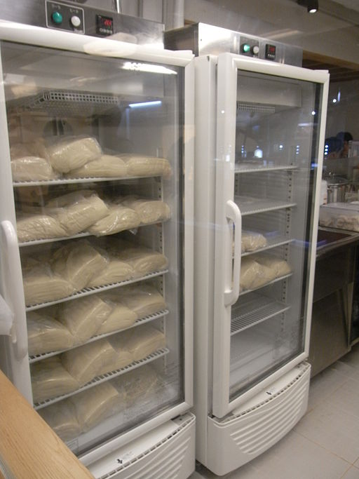 image of a reach-in fridge used to store food items while saving space