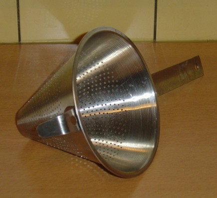 image of a metal chinois