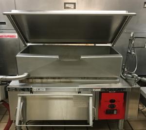 A large versatile restaurant kitchen appliance.