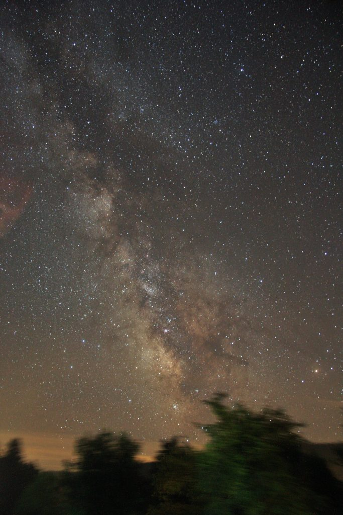 Are all stars we see with a naked eye part of the Milky