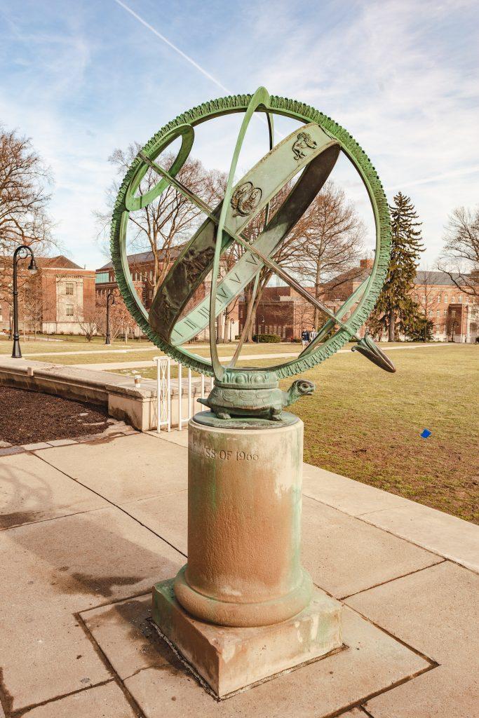 Penn State Old Main Armillary Sphere