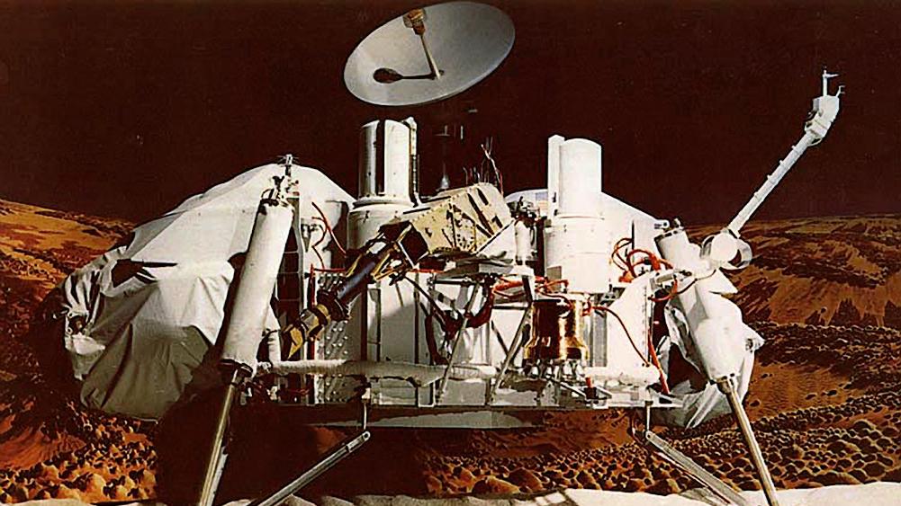 NASA JPL Image of the Viking 1 Lander for Mars