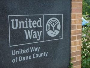 United Way sign
