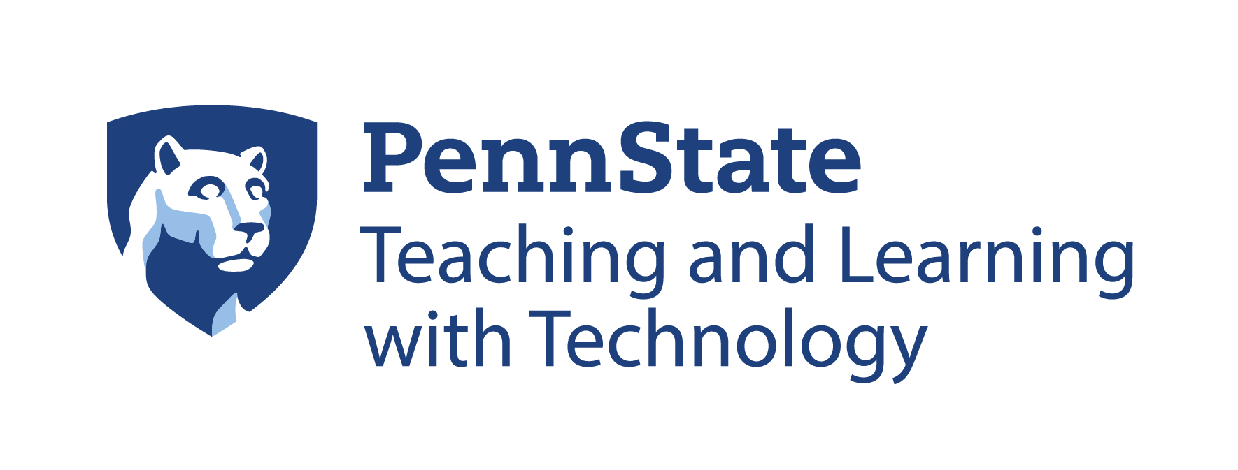Penn State Lion logo and Teaching and Learning with Technology