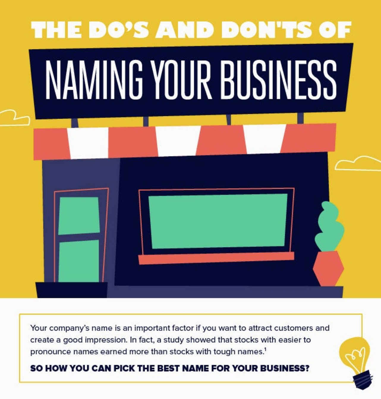 the do's and don'ts of naming your business