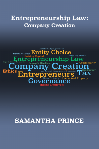 Cover image for Entrepreneurship Law: Company Creation